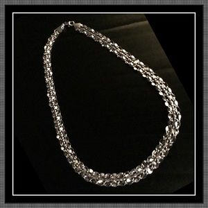 ROSS SIMONS GORGEOUS STERLING SILVER NECKLACE NIB